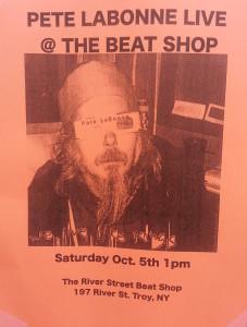 Pete LaBonne Concert Poster