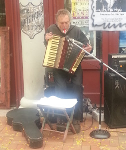 Pete, his accordion, and that crazy whilstle
