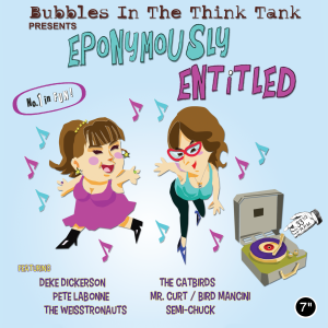 Bubbles in the Think Tank - Eponymously Entitled - cover